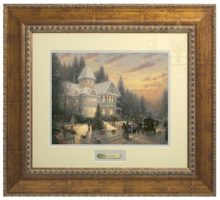 Victorian Christmas - Prestige Home Collection (Antiqued Gold Frame)