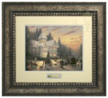 Victorian Christmas - Prestige Home Collection (Antiqed Silver Frame)