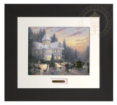 Victorian Christmas - Modern Home Collection (Espresso Frame)