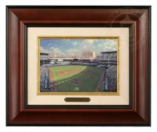 Yankee Stadium - Brushwork (Burl Frame)