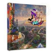 "Aladdin - 14"" x 14"" Gallery Wrapped Canvas"