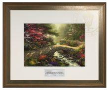 Bridge of Faith - Inspirational Print (Hudson Frame)