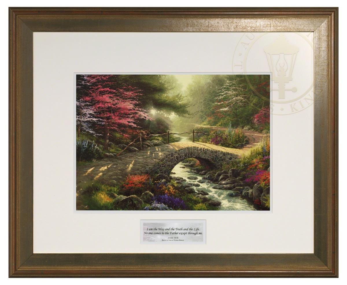 Bridge Of Faith Inspirational Print Hudson Frame