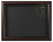"""Burnished Cherry - 9"""" x 12"""" Matted Print Frame"""