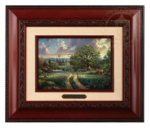 Country Living - Brushwork (Brandy Frame)