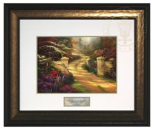 Spring Gate - Inspirational Print (Canaletto Gold Frame)