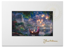 """Tangled - 9"""" x 12"""" Matted Print"""