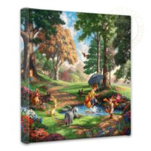 """Winnie the Pooh II - 14"""" x 14"""" Gallery Wrapped Canvas"""