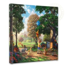 """Winnie the Pooh I - 14"""" x 14"""" Gallery Wrapped Canvas"""