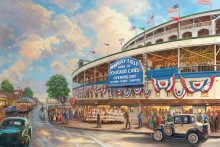 Wrigley Field - Limited Edition Art