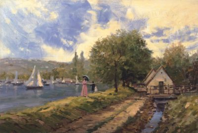 Lakeside Stroll - Limited Edition Art