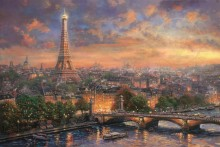 Paris, City of Love - Limited Edition Art