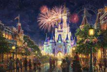 Main Street U.S.A.,® Walt Disney World® - Limited Edition Art