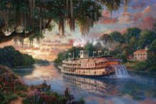 River Queen, The - Limited Edition Art