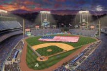 Evening at Dodger Stadium™ - Limited Edition Art