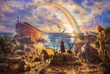 Zac Kinkade Noah's Ark - Thomas Kinkade Gallery New York New Jersey