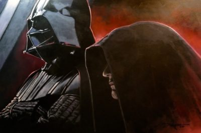 Vader and the Emperor - Rodel Gonzalez