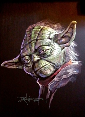 Yoda by Rodel Gonzalez