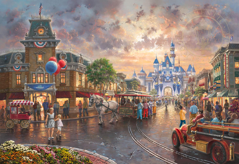 Disneyland® 60th Anniversary - Limited Edition Art - Thomas Kinkade  Galleries of New York, New Jersey & Connecticut