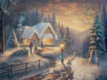 Country Christmas Homecoming - Limited Edition Art