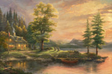 Morning Light Lake - Limited Edition Art