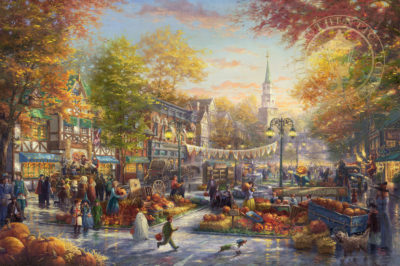 Pumpkin Festival, The - Limited Edition Art