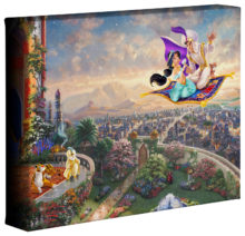 "Aladdin - 8"" x 10"" Gallery Wrapped Canvas"