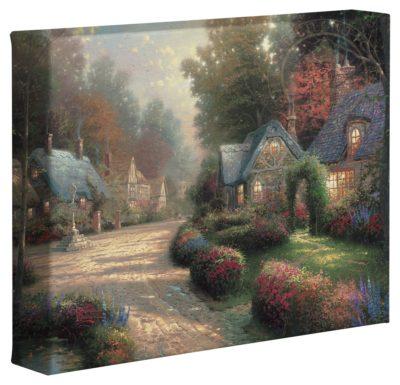 "Cobblestone Lane – 8"" x 10"" Gallery Wrapped Canvas"