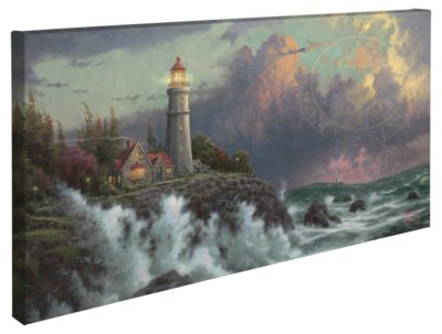 "Conquering the Storms – 16"" x 31"" Gallery Wrapped Canvas"