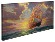 "Courageous Voyage – 16"" x 31"" Gallery Wrapped Canvas"
