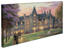 "Elegant Evening at Biltmore® - 16"" x 31"" Gallery Wrapped Canvas"