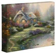 "Everett's Cottage – 8"" x 10"" Gallery Wrapped Canvas"