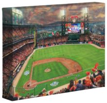 "San Francisco Giants™, It's Our Time - 8"" x 10"" Gallery Wrapped Canvas"