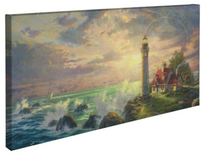 """Guiding Light, The – 16"""" x 31"""" Gallery Wrapped Canvas"""