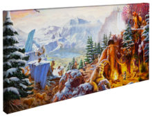 "Ice Age - 16"" x 31"" Gallery Wrapped Canvas"