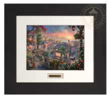 Lady and the Tramp - Modern Home Collection (Espresso Frame)