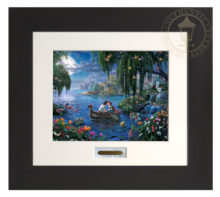 The Little Mermaid II - Modern Home Collection (Espresso Frame)