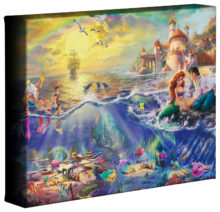 "Little Mermaid, The - 8"" x 10"" Gallery Wrapped Canvas"