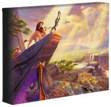 """Lion King, The - 8"""" x 10"""" Gallery Wrapped Canvas"""
