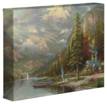 "Mountain Majesty – 8"" x 10"" Gallery Wrapped Canvas"