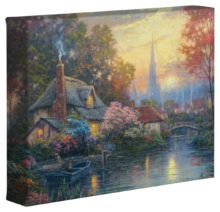 "Nanette's Cottage – 8"" x 10"" Gallery Wrapped Canvas"
