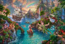 Disney Peter Pan's Never Land - Limited Edition Art