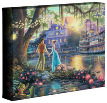 "Princess and the Frog, The - 8"" x 10"" Gallery Wrapped Canvas"
