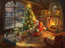 Santa's Special Delivery - Limited Edition Art