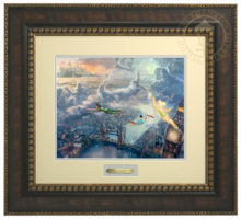 Tinker Bell and Peter Pan Fly to Neverland - Prestige Home Collection
