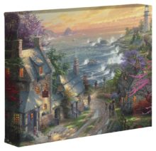 """Village Lighthouse, The – 8"""" x 10"""" Gallery Wrapped Canvas"""