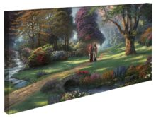 """Walk of Faith – 16"""" x 31"""" Gallery Wrapped Canvas"""