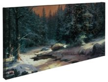 Winter's End – 16″ x 31″ Gallery Wrapped Canvas