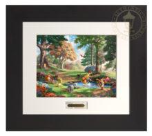 Winnie The Pooh I - Modern Home Collection (Espresso Frame)