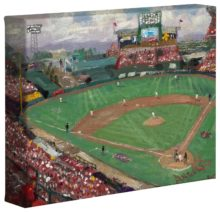 "World Series™, American League Champions, Anaheim Angels - 8"" x 10"" Gallery Wrapped Canvas"